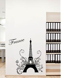 Decals Design U0027Eiffel Toweru0027 Wall Sticker (PVC Vinyl, 50 Cm X 70 Part 87