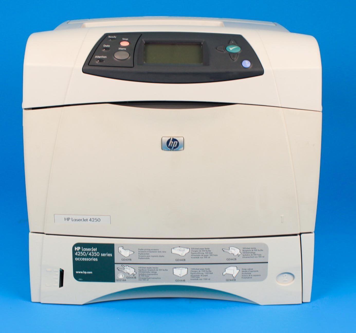 Renewed HP LaserJet 4350N 4350 Q5407A Laser Printer with 90-day Warranty