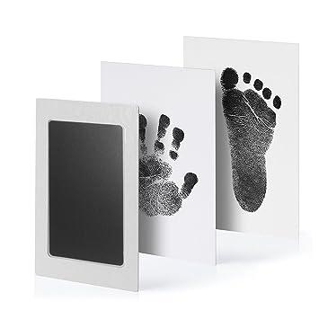 Ungiftig Baby Stempelkissen Abdruck Set Farbe Handabdruck Fußabdruck Ha QOG MHY