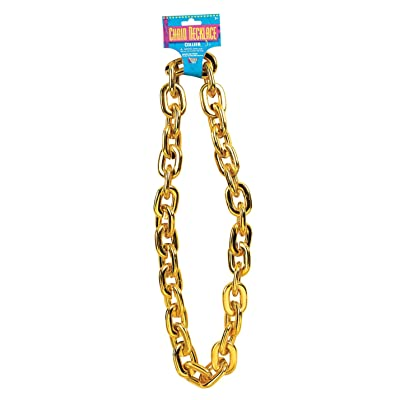 Forum Novelties Jumbo Gold Chain Costume Accessory: Toys & Games