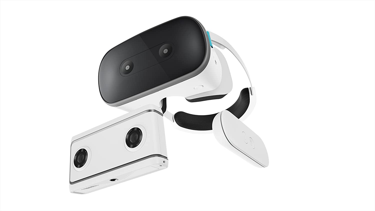 Lenovo Mirage Solo VR Headset and VR-Ready Photo and Video Camera Bundle with Daydream