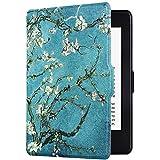 Capa Case Kindle Paperwhite Função Liga/Desliga (Amendoeira em Flor)