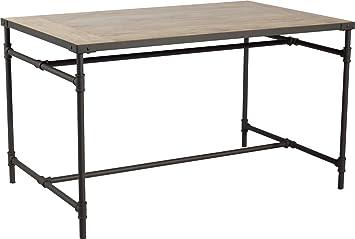 Tisch Aurel 132 82 Cm Keramik Holzoptik Industriestil Terrassentisch
