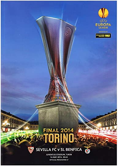 amazon com club licensed 2014 uefa europa league final program clothing club licensed 2014 uefa europa league