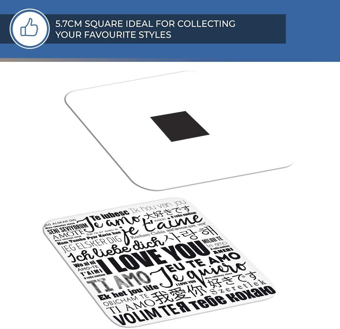 Je taime Cool # Cadeau Langues /étrang/ères 14432 Destination Vinyl ltd Aimant g/énial