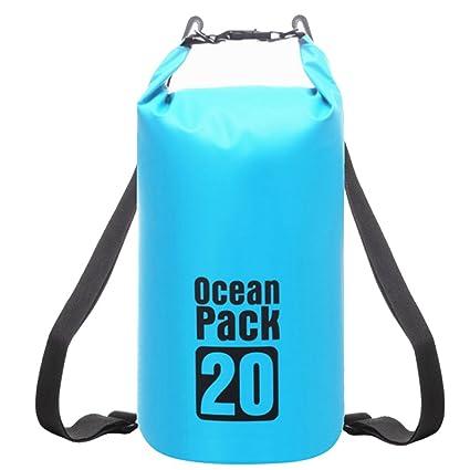 976027088 RFAIKA Mochila Hombre de Viaje Impermeable Portatil Hombre Mujer Bolsa de  Cubo Bolsa Impermeable, Backpack
