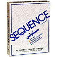 Saysha Sequence Travel Board Card Game (White)