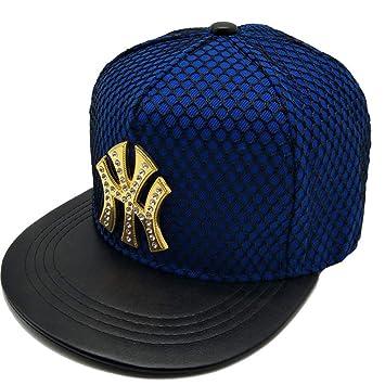 YYXXX Gorras béisbol Gorra de béisbol de Letra n con Estilo, Azul ...