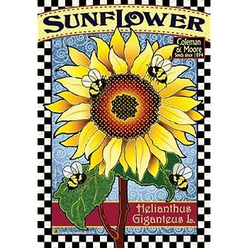 Seed Packet   Sunflower Garden Flag