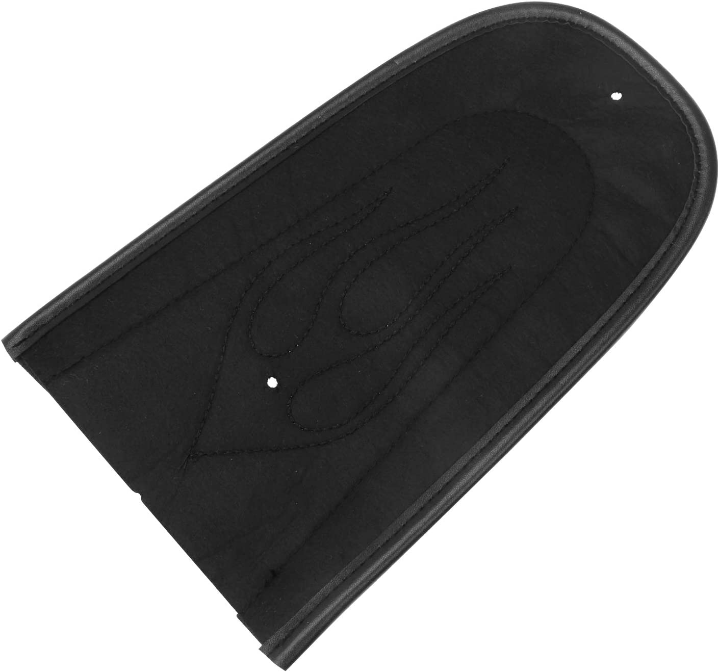 Black Flame Rear Fender Bib For Solo Seat For Harley Davidson Sportsters XL 883 1200 2004-2016