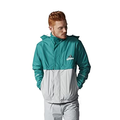 44e1b4b631cb adidas - Jackets - EQT Windbreaker - Sub Green S13 - L  Amazon.co.uk   Clothing