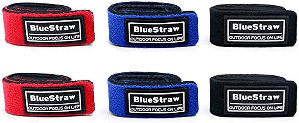 Details about  /4PCS//Set Fishing Rod Strap Strong Flexible Hook Loop Fishing Gear Strap Rod Belt