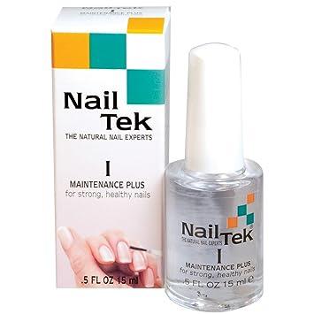 Amazon.com: Nail Tek- Maintenance Plus I- For Strong, Healthy Nails ...