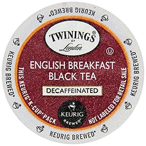 Twinings English Breakfast Decaf Tea Keurig K-Cups, 48 Count