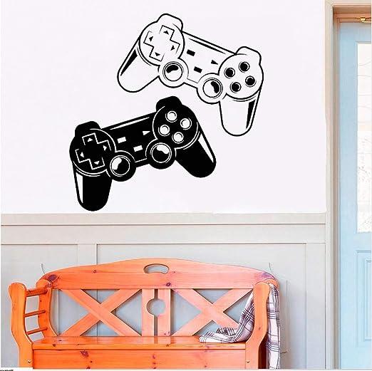 hllhpc Game Zone Decor Tatuajes De Pared Dormitorio Videojuego ...