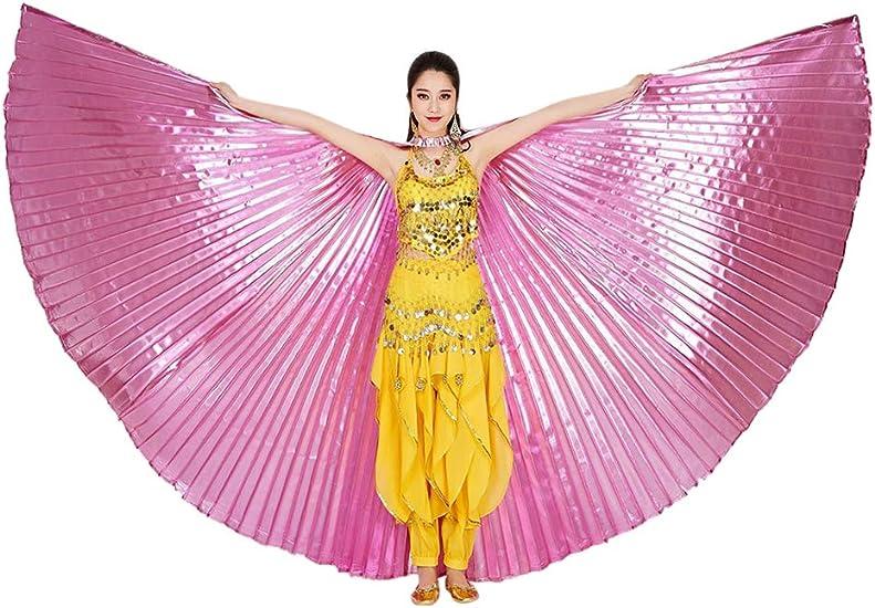 Zhhlaixing Mujeres Alas de Danza del Vientre - Disfraz de ISIS del ...