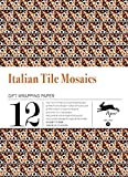 Italian Tile Mosaics: gift and creative paper book vol. 33 (Gift Wrapping Paper)