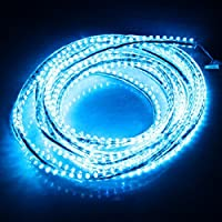 LED Strip Lighting for Car/ Home/ Special Effects - BLUE - 15 Lights by Science Purchase ®