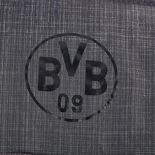 Borussia Dortmund Winterjacke, Anthrazit, Polyester, BVB-Emblem, Kapuze (anthrazit)