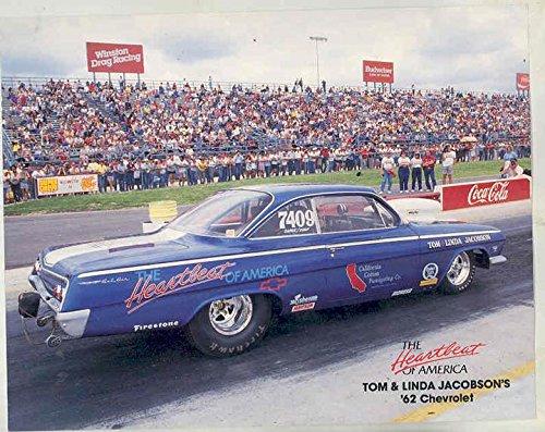Amazon 1962 Tom Jacobsen Chevrolet Bel Air Heartbeat Nhra Drag