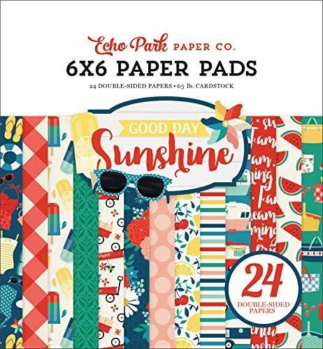 Echo Park Paper Company Good Day Sunshine 6x6 ペーパーパッド