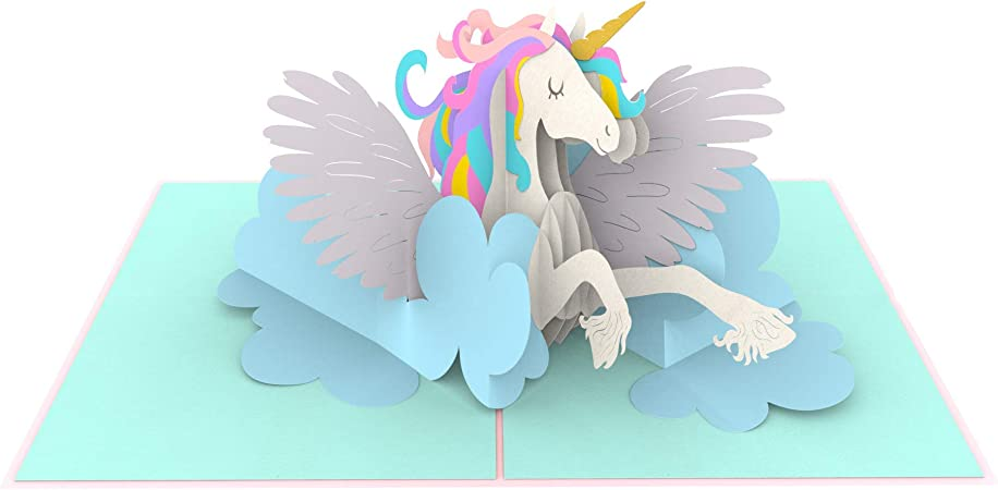 Unicorn greeting card  friendship encouragement card  positive vibes card  I am a unicorn card  always be yourself  blank card simple