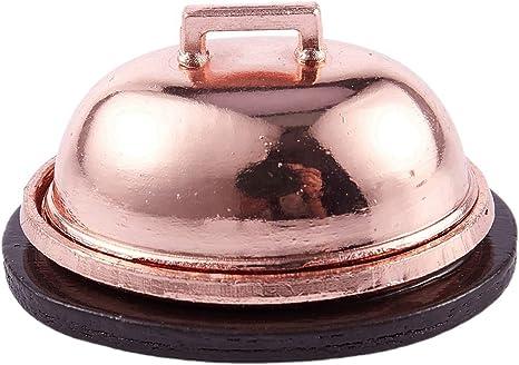 REFURBISHHOUSE 1:12 Maison de Poupee Limulation de Dinde de Noel avec Un Couvercle Miniature