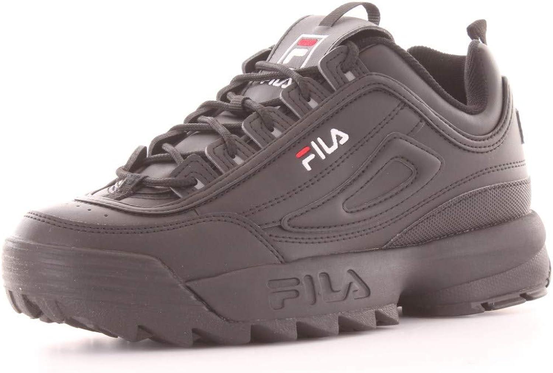 Fila Disruptor Low WMN, Sneakers Basses Femme Noir Black 1010302 12v