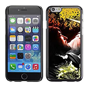 LECELL--Funda protectora / Cubierta / Piel For iPhone 6 -- Hombre --