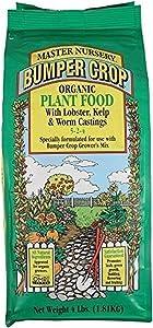 Coast of Maine BLK 4 lb Master Nursery Bumper Crop Organic Plant Food