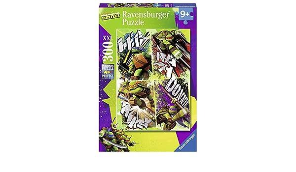Ravensburger Tortugas Ninja - Puzzle, 300 Piezas 13088 7 ...