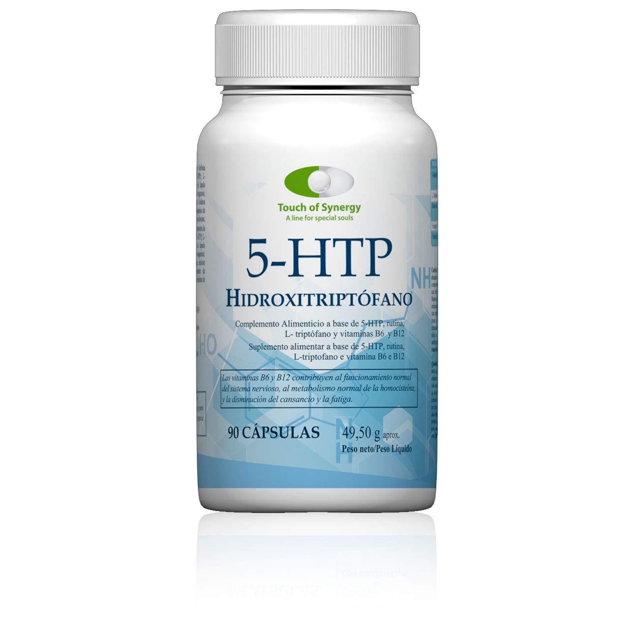 5-HTP Hidroxitriptófano 90 cápsulas. Complemento alimenticio a ...