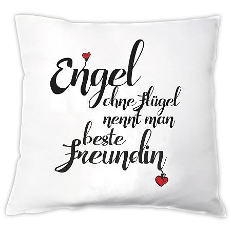 Kissen Engel Ohne Flugel Nennt Man Beste Freundin Zierkissen