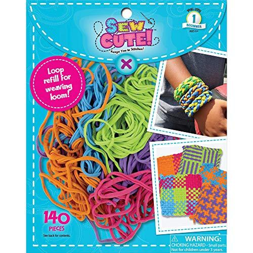 (Sew Cute! Loom Loop Refill Kit-bright)