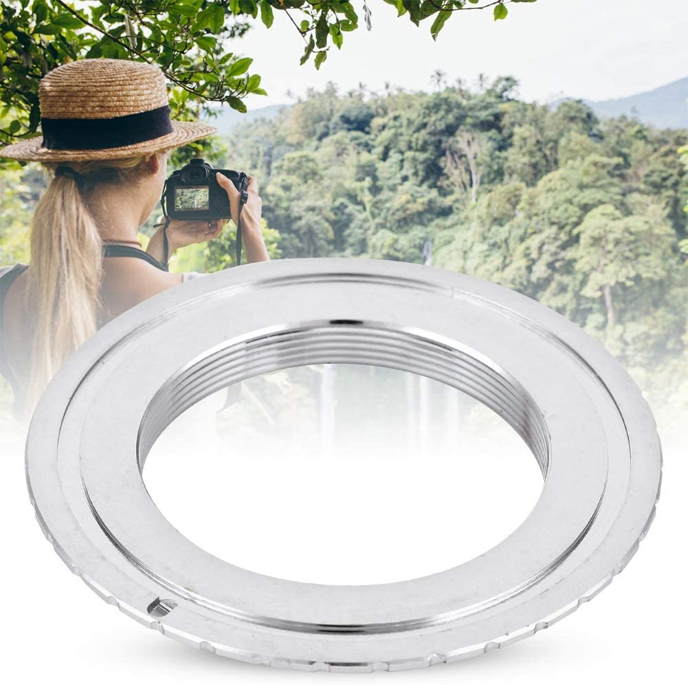 Adapter Ring M42-EOS Metal Lens Mount Adapter Ring for M42 Lens to Fit for Canon EOS Mount Camera