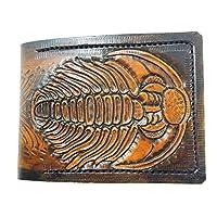 Trilobite leather wallet