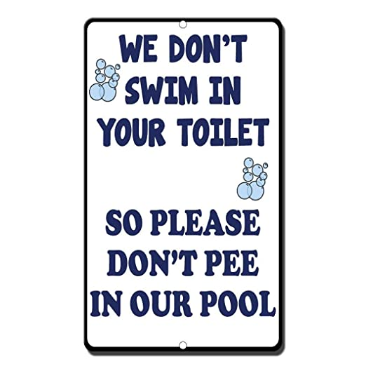 Kia Haop We Dont Swim In Your Toilet So Please Dont Pee In Our