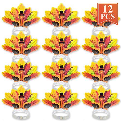 Thanksgiving Decorations Turkey Headband 12ct