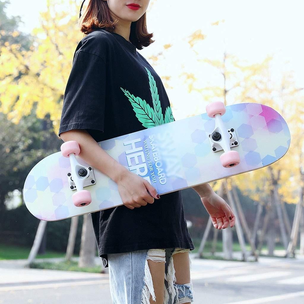 都内で DUWEN スケートボード初心者大人の女の子ティーンブラシストリートダブルロッカー子供四輪スクーター A (色 : E) E) B07NQ4WL9D DUWEN A A, カーパーツマルケイ:561152fd --- a0267596.xsph.ru