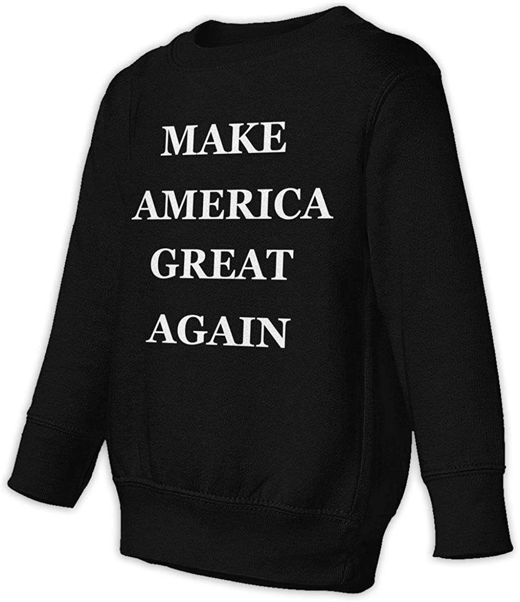 wudici Make America Great Again Boys Girls Pullover Sweaters Crewneck Sweatshirts Clothes for 2-6 Years Old Children