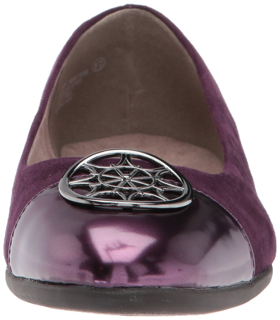 Aerosoles A2 by Women's Trend Book W Ballet Flat B0722PY21P 12 W Book US|Purple Combo f85666