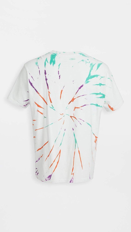RVCA Mens Dayshift Tie Dye Short Sleeve T-Shirt