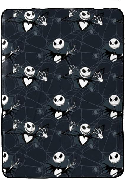 Details about  /The Nightmare Before Christmas Jack Skull Fleece Blanket