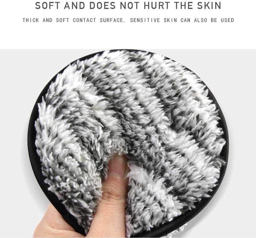 Leegoal Lot de 3 serviettes d/émaquillantes pour le visage en microfibre lavable//r/éutilisable les disques d/émaquillants de voyage pour le maquillage le d/émaquillant