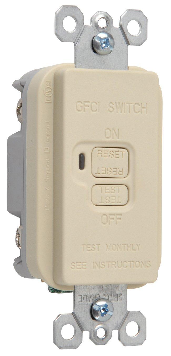 Legrand Pass Seymour 1597gryccd12 Gfci Receptacle 15 Amp 125 Volt Arcfault Circuit Interrupter Afci 20 Feed Thru Gray Led Household Light Bulbs