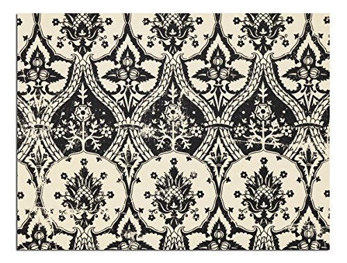 (JP London Solvent Free Art Print PAPL2180 Ready to Frame Poster Vintage Gothic Damask Toile at 30