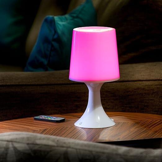 Auraglow Lámpara de Escritorio/ Mesa de Noche con Luz LED ...