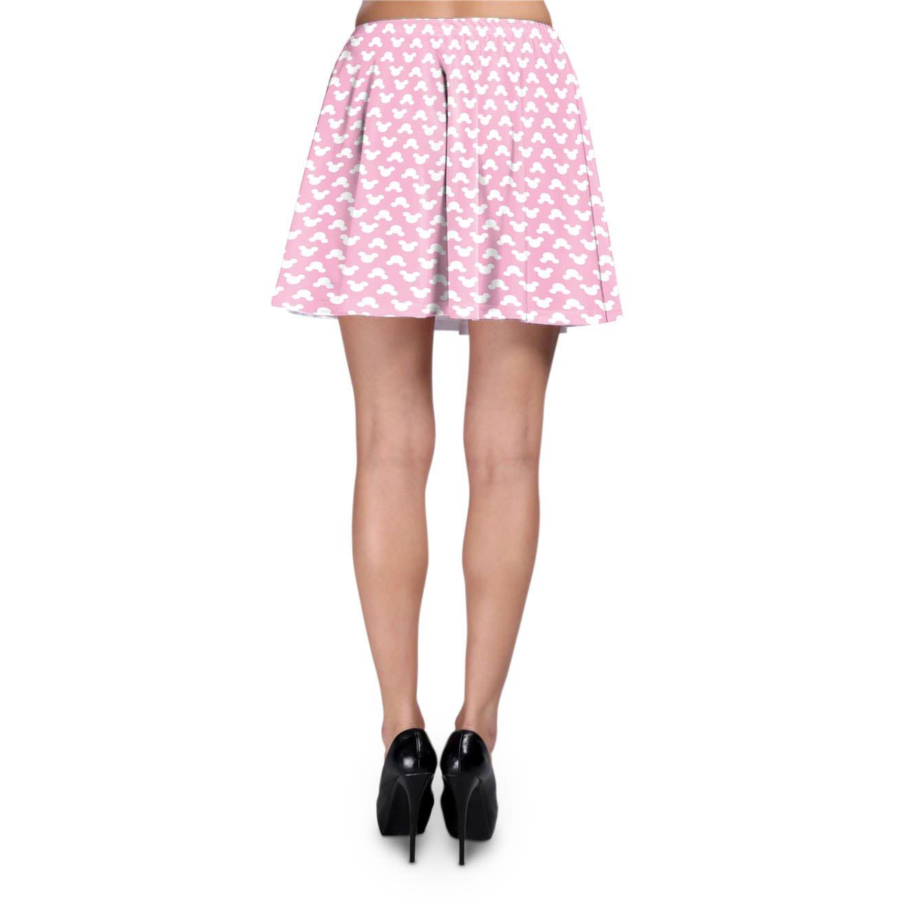 Mickey Mouse lunares rosa skater falda XS-3 X L Elástico ...
