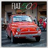 Fiat 500 Calendar - Calendars 2016 - 2017 Wall Calendars - Car Calendars - Fiat 500 Monthly Wall Calendars by Avonside