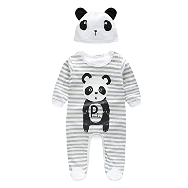 9bc7196ad8c7 Amazon.com  FTXJ Baby Jumpsuits